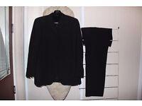 Men's 2 piece black suite - Blazer & Trouser