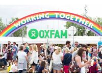 Festival Admin Intern in our Oxford Oxfam Office