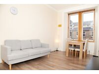 Quiet furnished two bedroom flat in Slateford
