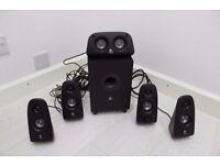 Logitech Z506 Speaker System - 5.1 - 75W RMS