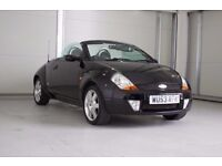 2003 Ford Streetka 1.6 Luxury 2dr Convertible With 12 Months MOT