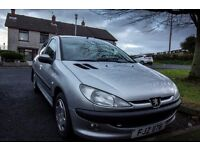 Peugeot 206 2003 Silver **NEEDS SOLD** Cheap, Perfect first car!
