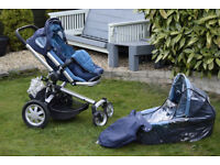 Quinny Buzz 4 pushchair pram stroller with included extras