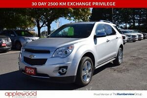 2012 Chevrolet Equinox LTZ, ONE OWNER ONLY 40566 KM