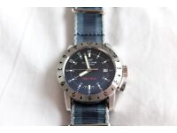 Glycine Airman Double Twelve 3938 - automatic watch 40mm - excellent condition box & papers £620 ONO