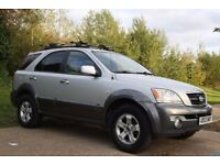 2004 KIA Sorento 3.5 V6 XS 5dr 4X4 SAT-NAV, Leather, Sunroof LHD LEFT HAND DRIVE, AUTO, LOW MILEAGE