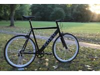 Special Offer GOKU cycles ALLOY / STEEL Frame Single speed road bike TRACK fixed gear bike yy77