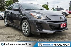 2013 Mazda MAZDA3 GS-SKY|ALLOYS|CRUISE CTRL|HTD SEATS|ROOF|BLUET