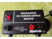 Maplin 13.8 Volt power supply 3 to 5 amp surge