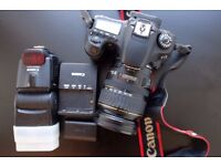 CANON 60D with 28-135mm Lens and Canon Speedlite 430EX II