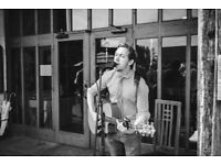 Professional Singer & acoustic guitarist available for Weddings and corporate events!