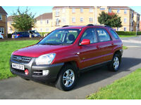 Kia Sportage 4x4 immaculate condition owned for 6 years reliable versatile great vehicle
