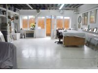 372 sqf Spacious /Artist Studio / Workshop /to share £450.00 per month.