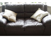 Brown Leather Sofa in Great Condition