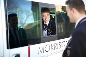PART-TIME MINIBUS DRIVER (SCHOOL TERM TIME – 15-20 HOURS PER WEEK)