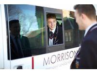 PART-TIME MINIBUS DRIVER (SCHOOL TERM TIME – 15-20 HOURS PER WEEK)