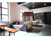 HUGE 1 Bed Warehouse Open plan Apartment All bills inc.., High Ceilings.Cool Interiors..