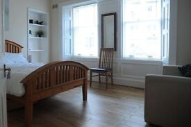 Large bedrooms available in high quality main door flat, fantastic location