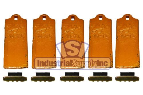Bucket Tooth | Conical Series | ESCO Style | Long | W/ Pins & Locks | 18TL | 5PK