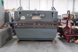 Accurpress 7608  60 ton Hydraulic Press Brake