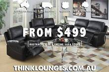 New sofas up to 60% off retail. Free home delivery St Albans Brimbank Area Preview