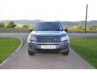 2012 (62 reg),LandRover Freelander 2 TD4 S, 5dr 2.2L Diesel, Grey, Manual, 52834 miles