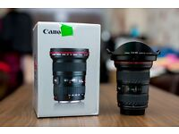 Canon EF 16-35mm F2.8 II L USM Lens Mint and boxed £800