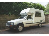 Citroen C15 Romahome 1995 campervan - great condition & nothing to buy - just hit the road!!