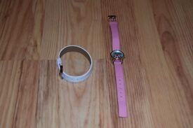 Pink/White Watch