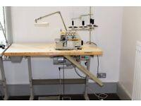 Industrial Wimsew DF747F 4 Thread Overlocker Sewing Machine