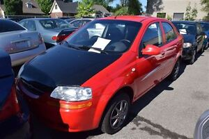 2006 Chevrolet Aveo 4dr Sdn LS