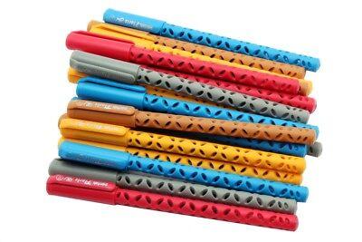 Wholesale Lot Of 50 - Pentek Floris Gel Pen 0.5 Mm Japanese Waterproof Blue Ink
