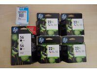 Original HP 22XL & 56 Cartridges