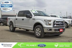 2016 Ford F-150 XLT 4X4 FORD CERTIFIED LOW RATES & EXTRA WARRANT