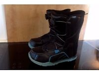 Black Ride Spark Snowboard Boots UK Size 3