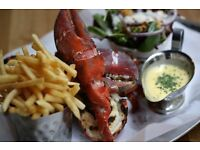 Burger & Lobster Manchester! Passionate & Fun waitresses & waiters!!