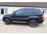 BMW X5 3.0 D SPORT AUTO 4x4- 2005 (55 Plate) - FACELIFT - BLACK - HUGE SPEC