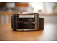 High quality Italian leather belt