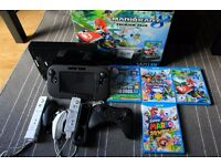 Nintendo Wii U Premium 32GB bundle - Mario 3D World, Mario Kart 8, Super Smash Bros, Mario Bros