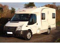 2012 Roller Team 200 Family 4 berth motorhome, 22000 miles, fixed rear bed