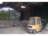 120m2 garage to rent - with use of forklift