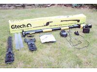 GTECH Cordless 18V Hedge Trimmer and Branch Cutter. Scarcely used.
