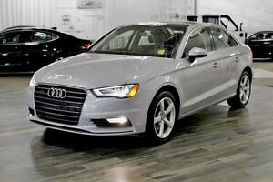 2015 Audi A3 2.0T Comfort, Sunroof, AWD - Must See!