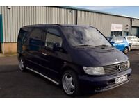 VERY NEAT LEFT HAND DRIVE MERCEDES BENZ VITO, DRIVES EXCELLENTLY, GOOD LOAD SPACE, SOUND ENGINE.CALL