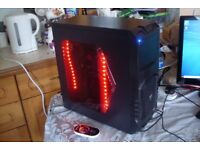 Custom Gaming PC AMD A6-6400K 3.9GHz 8GB RAM 500GB Windows 10 HDMI RGB LED's