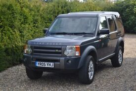 Land Rover Discovery 3, 2.7 TDV6 SE diesel, (05 reg) Bonatti grey metallic, meticulously maintained