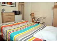 ###Nice Double or twin room-Private patio-Camden###