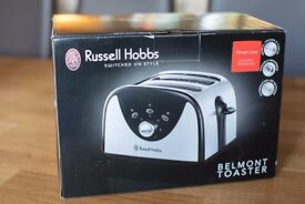 Russell and Hobbs stainless steel Toaster