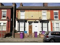 122 Gloucester Road North, Anfield - 2 bed end terrace . GCH & DG, downstairs bathroom. LHA welcome