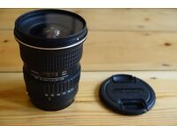 TOKINA AT-X PRO 11-16MM F2.8 DX CANON FIT LENS